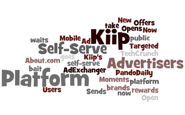 Kiip PR Headlines