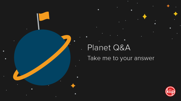 Planet Q&A: Take me to your answer