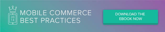 Download 2014 Mobile Commerce Best Practices