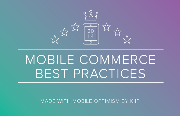 2014 Mobile Commerce Best Practices