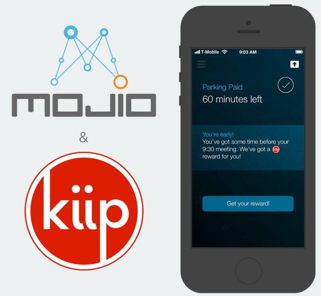 Mojio Partners will Kiip